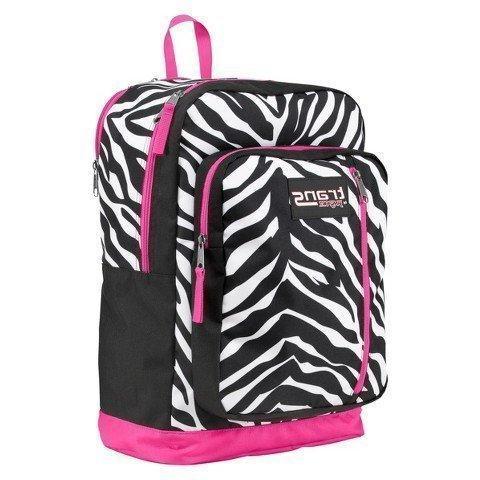 Trans by Jansport Overexposed Megahertz Backpack Pink Black