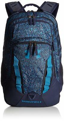 Under Armour Storm Recruit Backpack,Midnight Navy /Bayou Blu