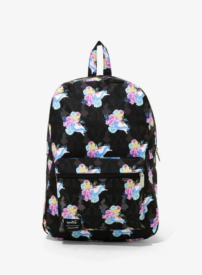 DISNEY Alice Backpack By NEW! LICENSED!