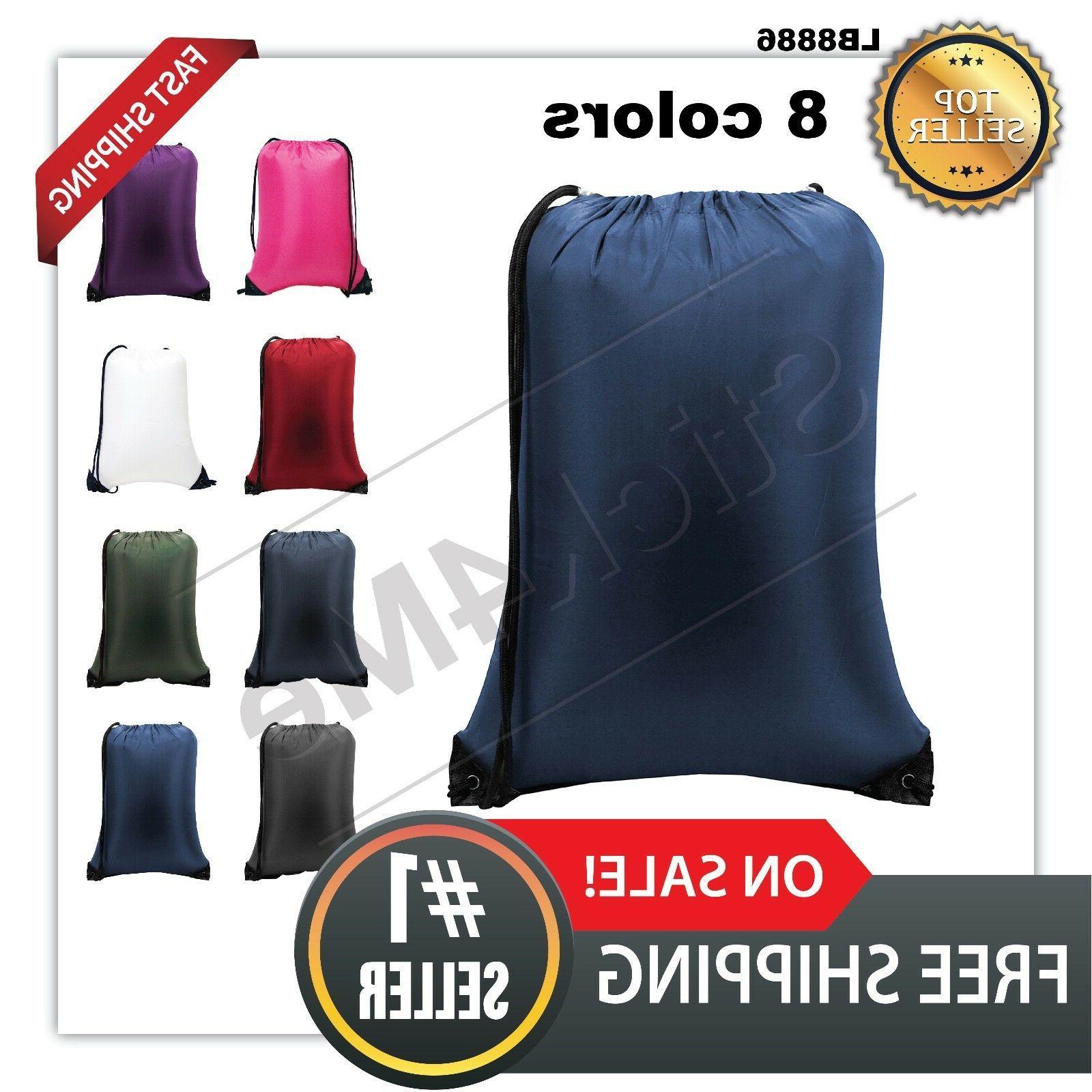 all new drawstring bag large backpack 8886