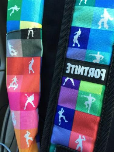 FORTNITE Amplify Multicolor Backpack 17 School Dancing NEW