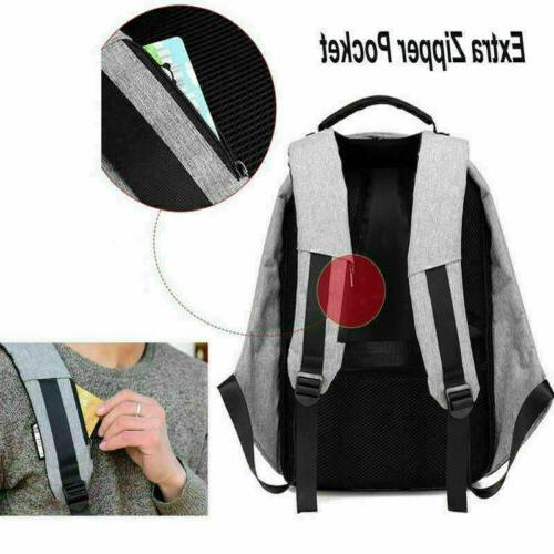 Anti-theft Notebook Backpack +USB Charging