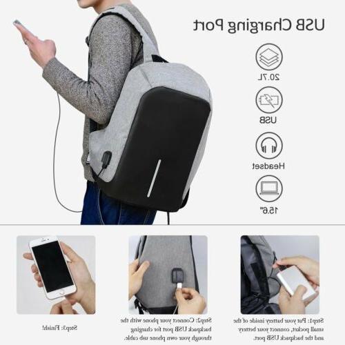 Anti-theft Laptop Notebook USB Charging Travel