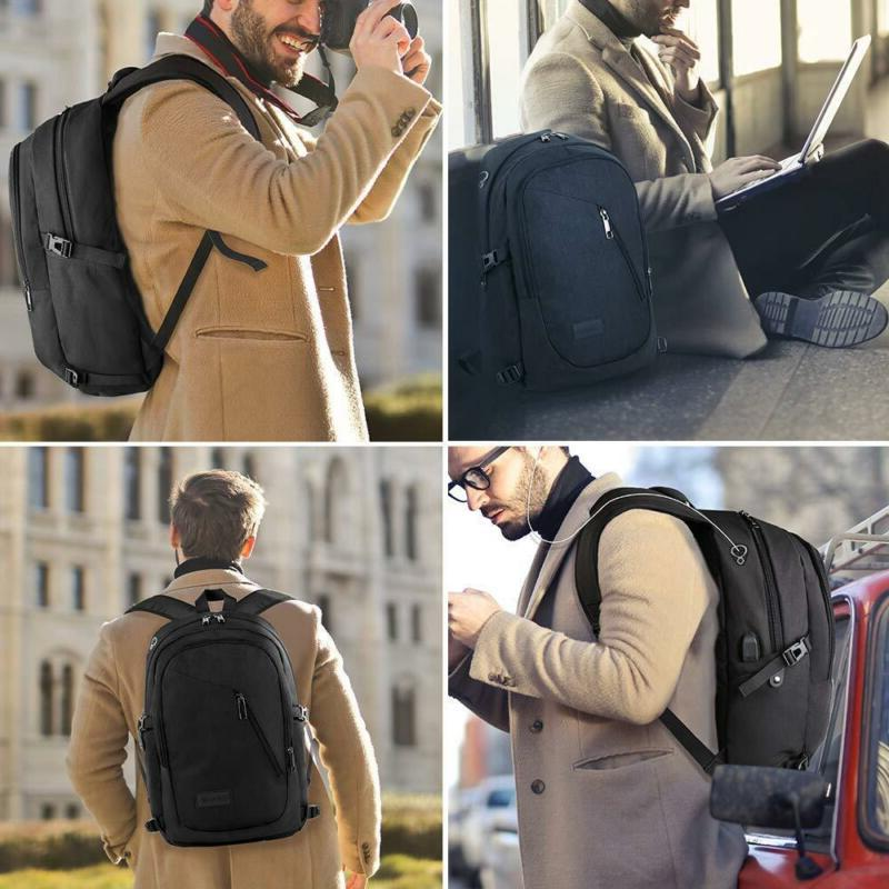 Anti-Theft Backpack Laptop School With Usb