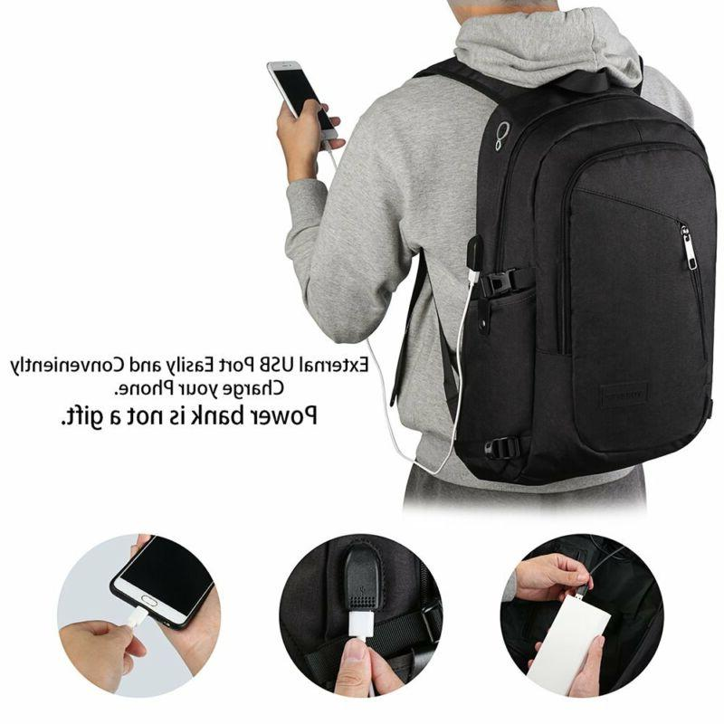 Anti-Theft Backpack Laptop With