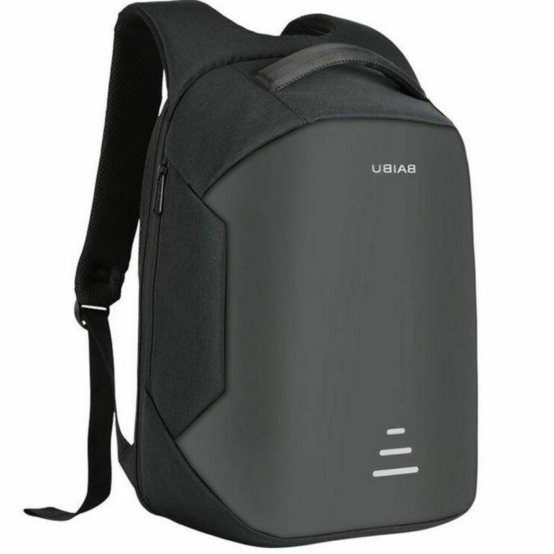anti theft unisex laptop notebook backpack usb