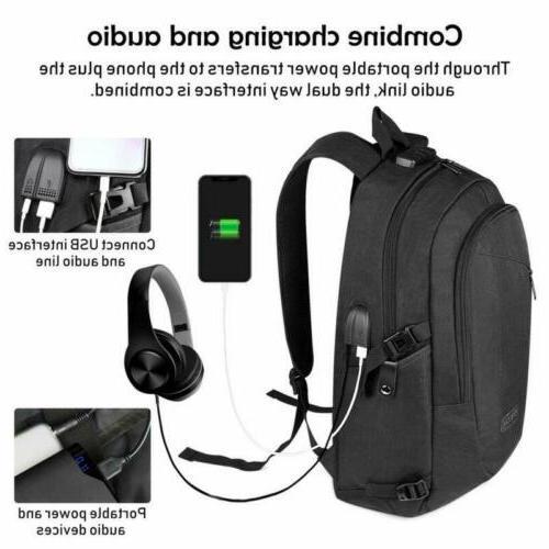 Anti-Theft USB Laptop Casual Travel