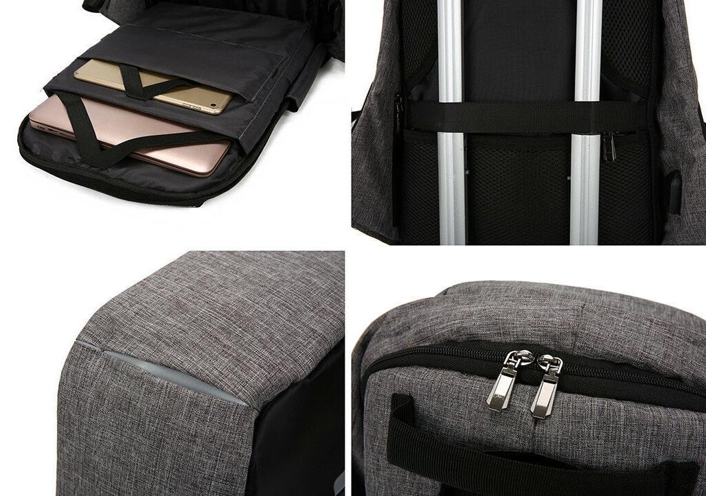 USB Laptop School Bag