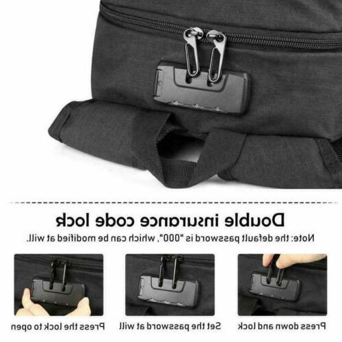 """Anti-Theft Mens External Charge Port 17"""""""