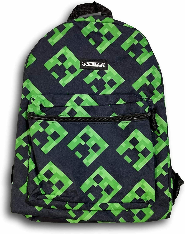"Minecraft 16"" Creeper All Over Sleeve"