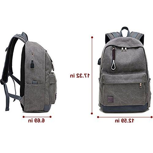 Doingbag Backpack USB Charging Port Travel Camping Outdoor