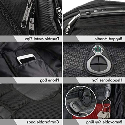 Extra Large Backpack, Lightweight Laptop with Computer Usb Friendly Men 17 inch