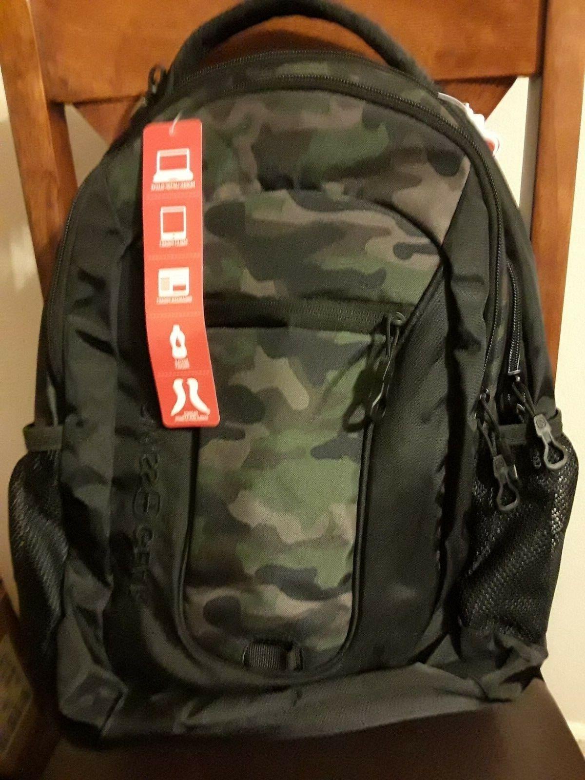 backpack black camo
