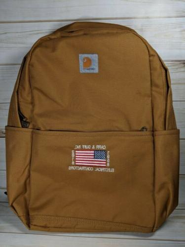 CARHARTT BACKPACK NEW WITH AMERICAN FLAG