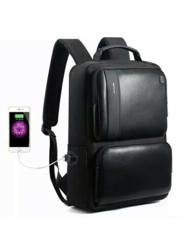 backpacks business 15 inch laptop bag usb