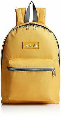 Everest Basic Backpack, Streamlined Silhouette Ideal For Sch