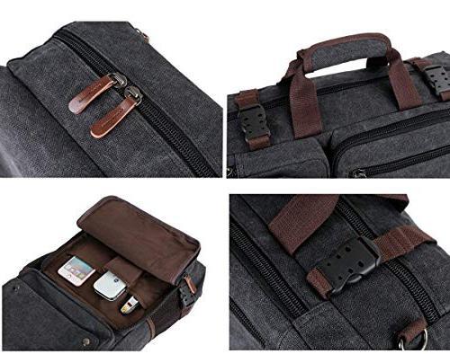 BAOSHA Men's Bag Canvas Laptop inch Laptop Handbag Hiking