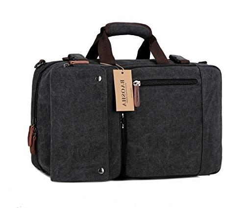 BAOSHA BC-08 3-in-1 Multifunction Men's Bag Convertible Vintage Laptop Backpack Laptop Bags Handbag Hiking