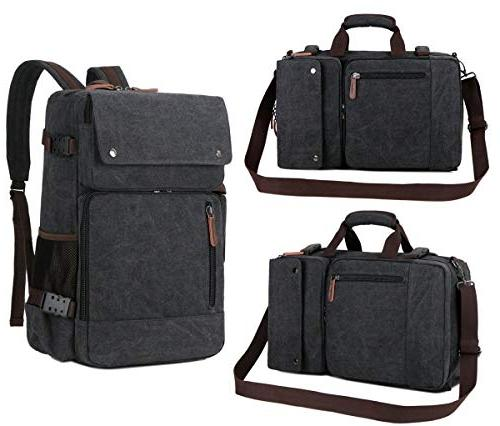 BAOSHA BC-08 Men's Bag Vintage Laptop Backpack 15.6 inch Laptop Bags Handbag Travel Hiking