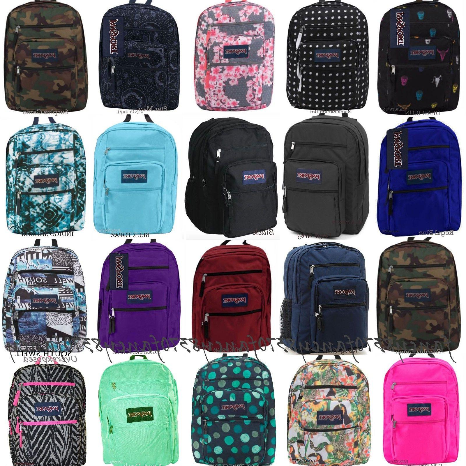 JANSPORT BIG STUDENT 100% AUTHENTIC BACK