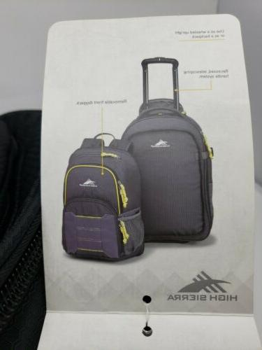 High Business Travel 22 Backpack Luggage 6 lb