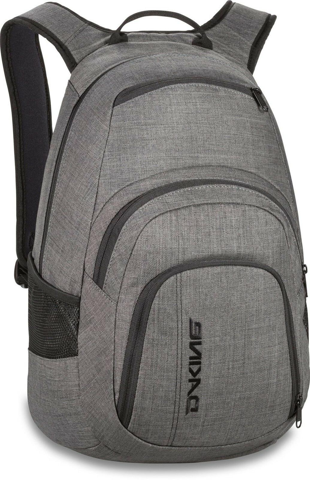 Dakine Campus Backpack, Carbon, 25L Genuine Dakine ®