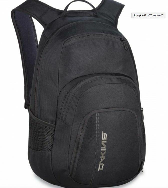 Dakine Campus  Backpack BLACK - 25L NEW