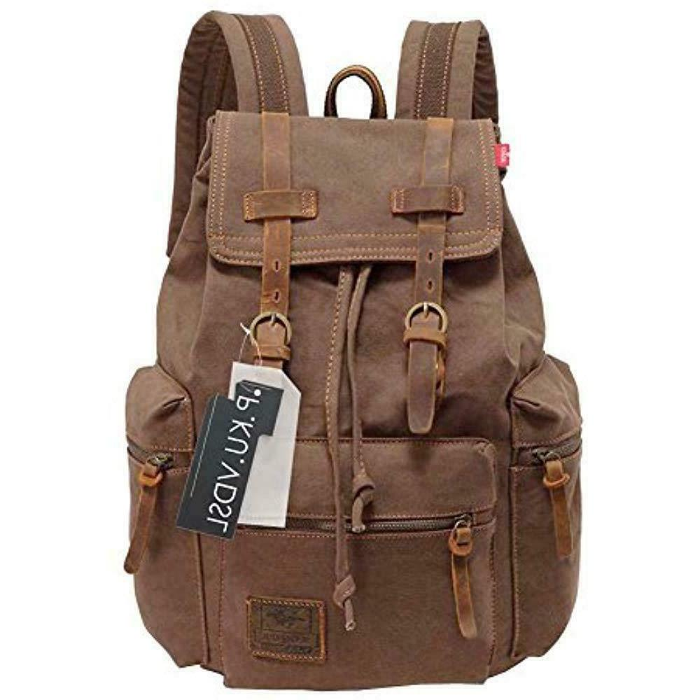 canvas backpack augur series vintage
