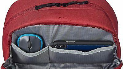 AmazonBasics Canvas Laptops up 15 Inches Burgandy