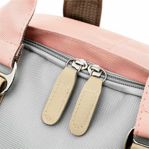 Canvas Backpack Women Satchel
