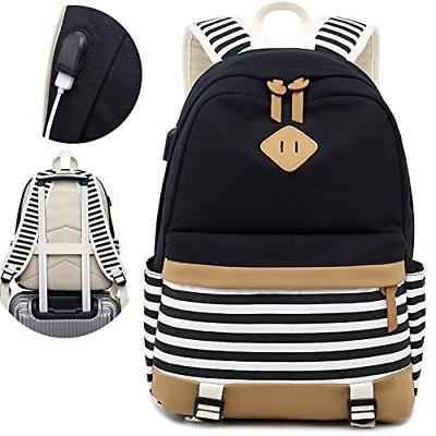 canvas travel laptop backpacks womens college backpack
