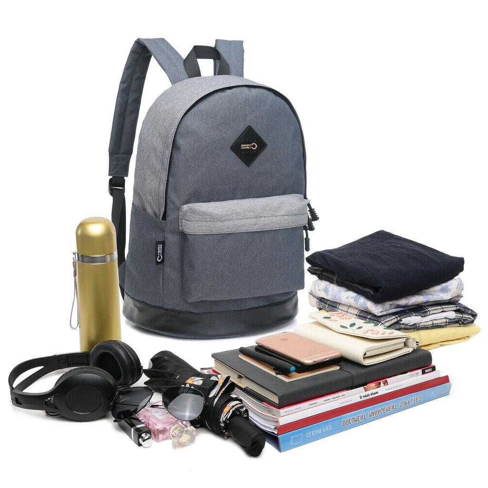 CrossLandy Classic Laptop Backpack Boys High Bag Casual Travel