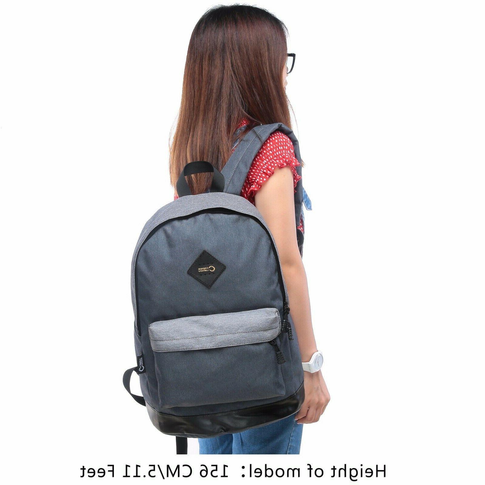 CrossLandy Classic Boys High School Bag Casual Travel