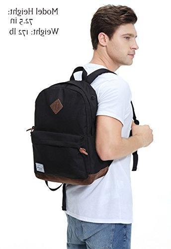 Vaschy Unisex Travel Backpack Fits