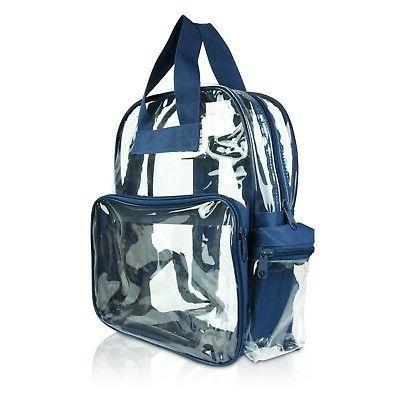 clear backpack school see through