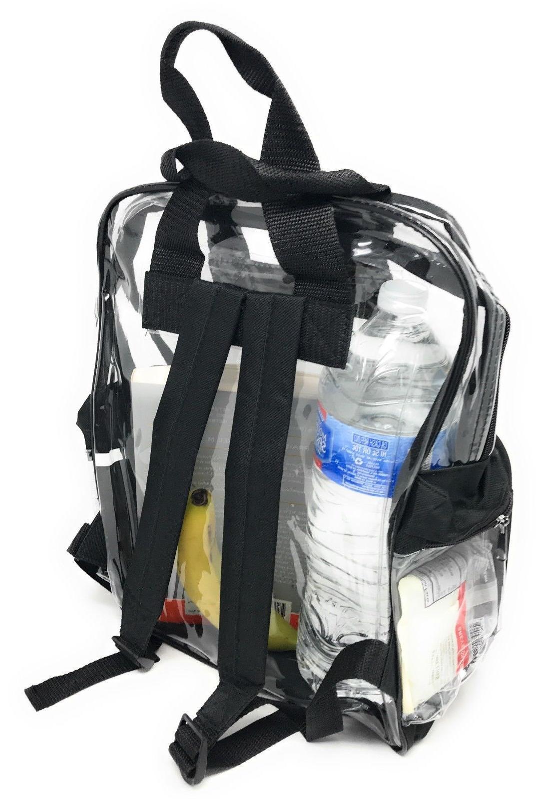 Clear Backpack Bag Security TSA 3
