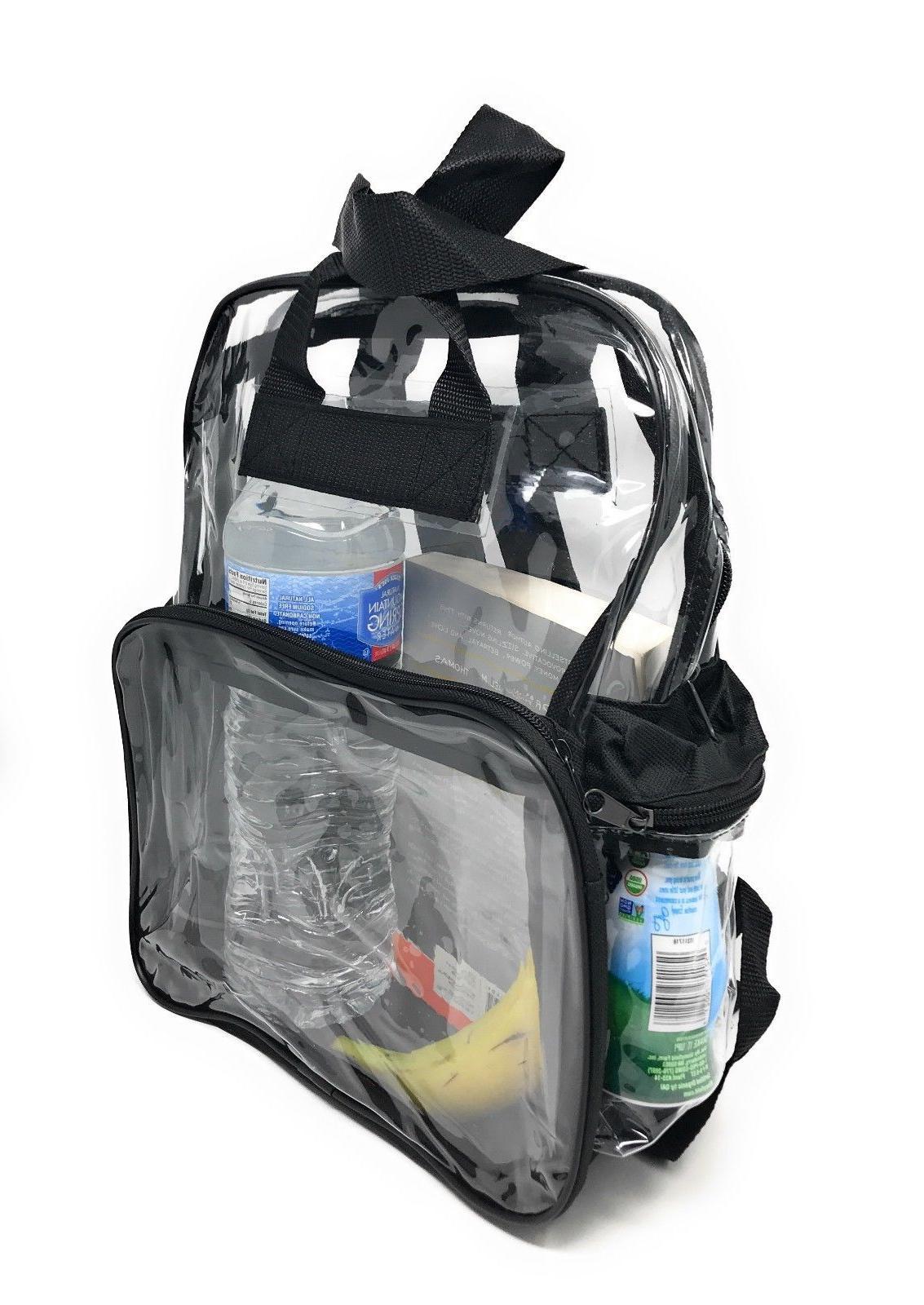 Clear Transparent Bag TSA Rally