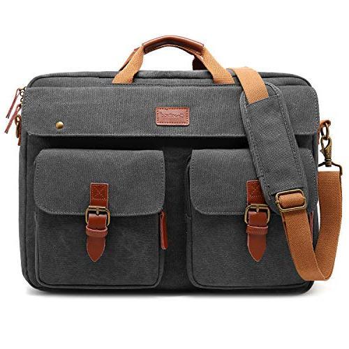 convertible messenger bag backpack laptop