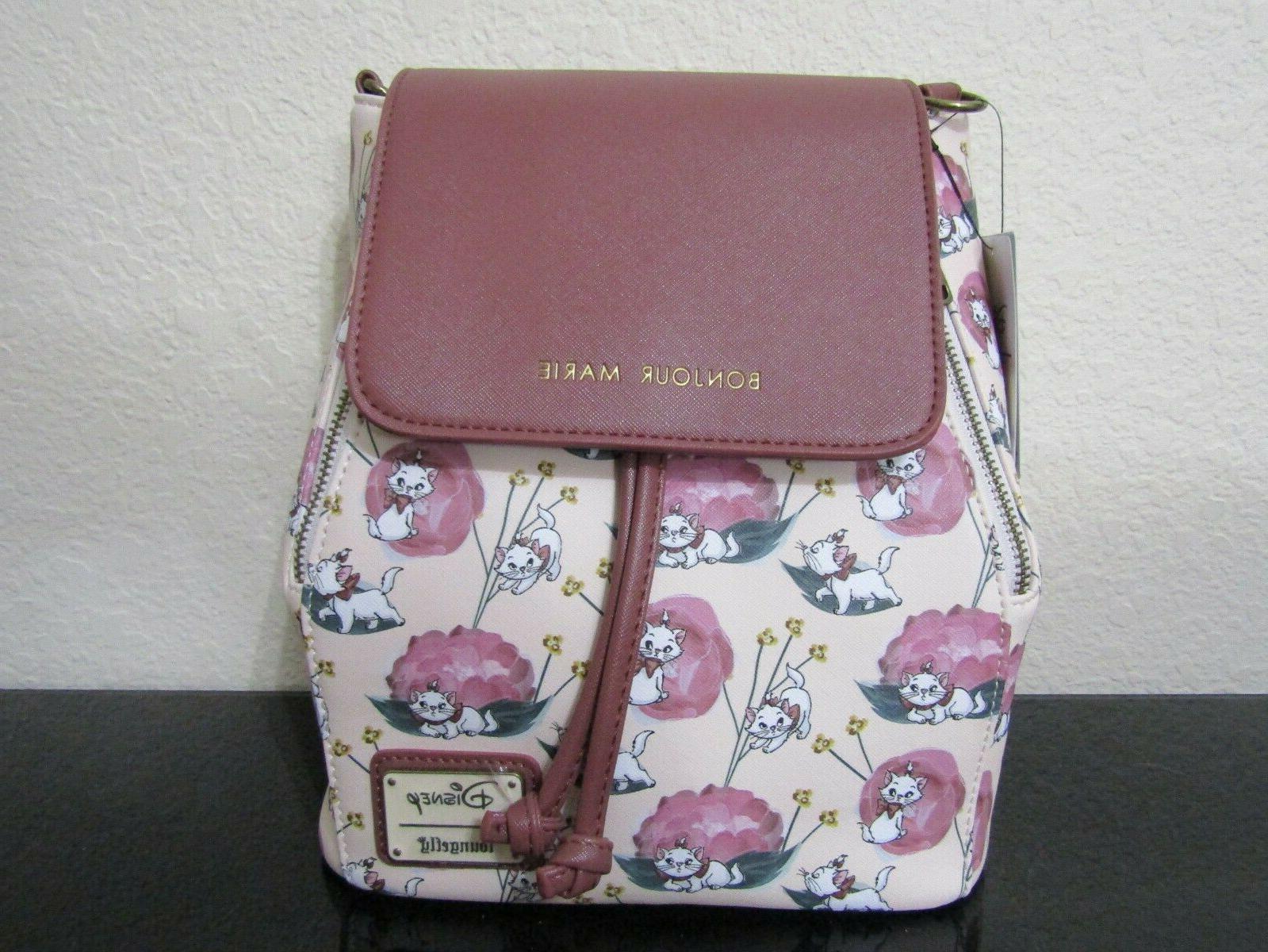disney the aristocats marie convertible mini backpack