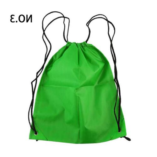 Drawstring Backpack Bags for Gym Hiking Travel Beach