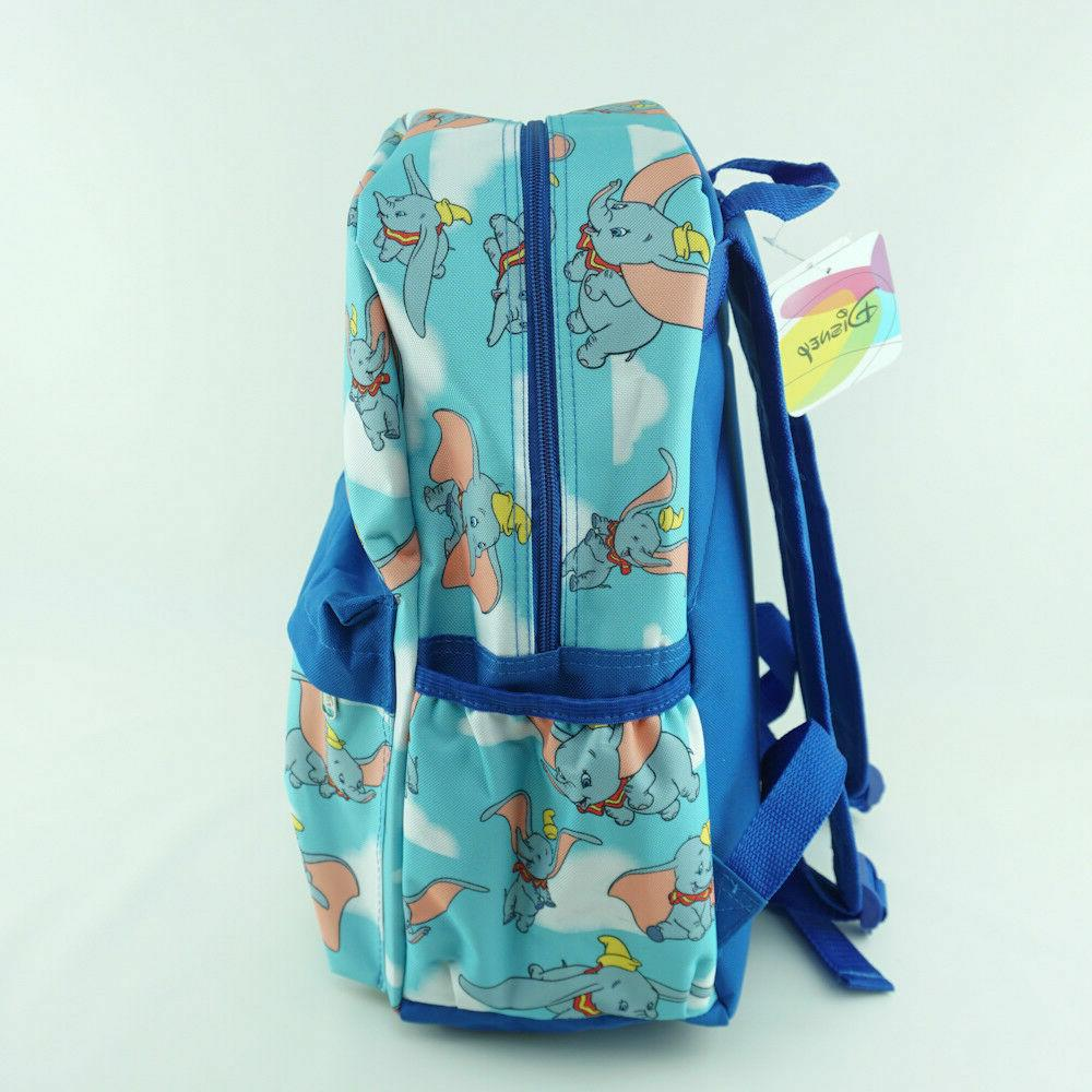Disney Dumbo Backpack Allover Blue with Front