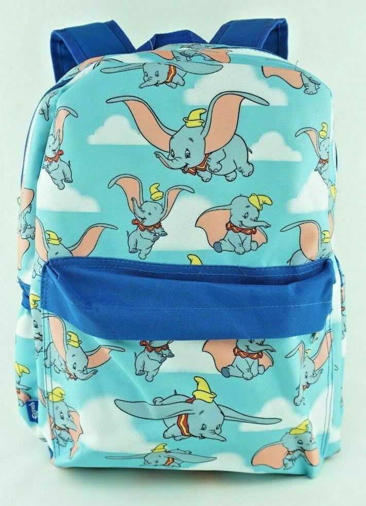 dumbo backpack elephant allover print large 16