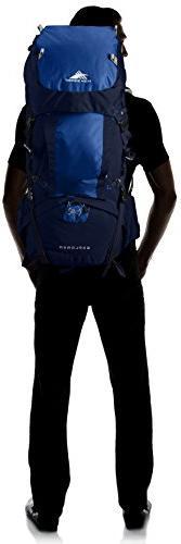 High Sierra Top Load Backpack Pack, for True Navy/Royal/True