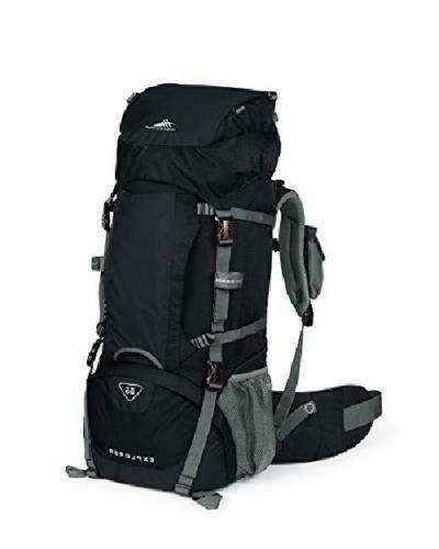 explorer 55l top load internal frame backpack