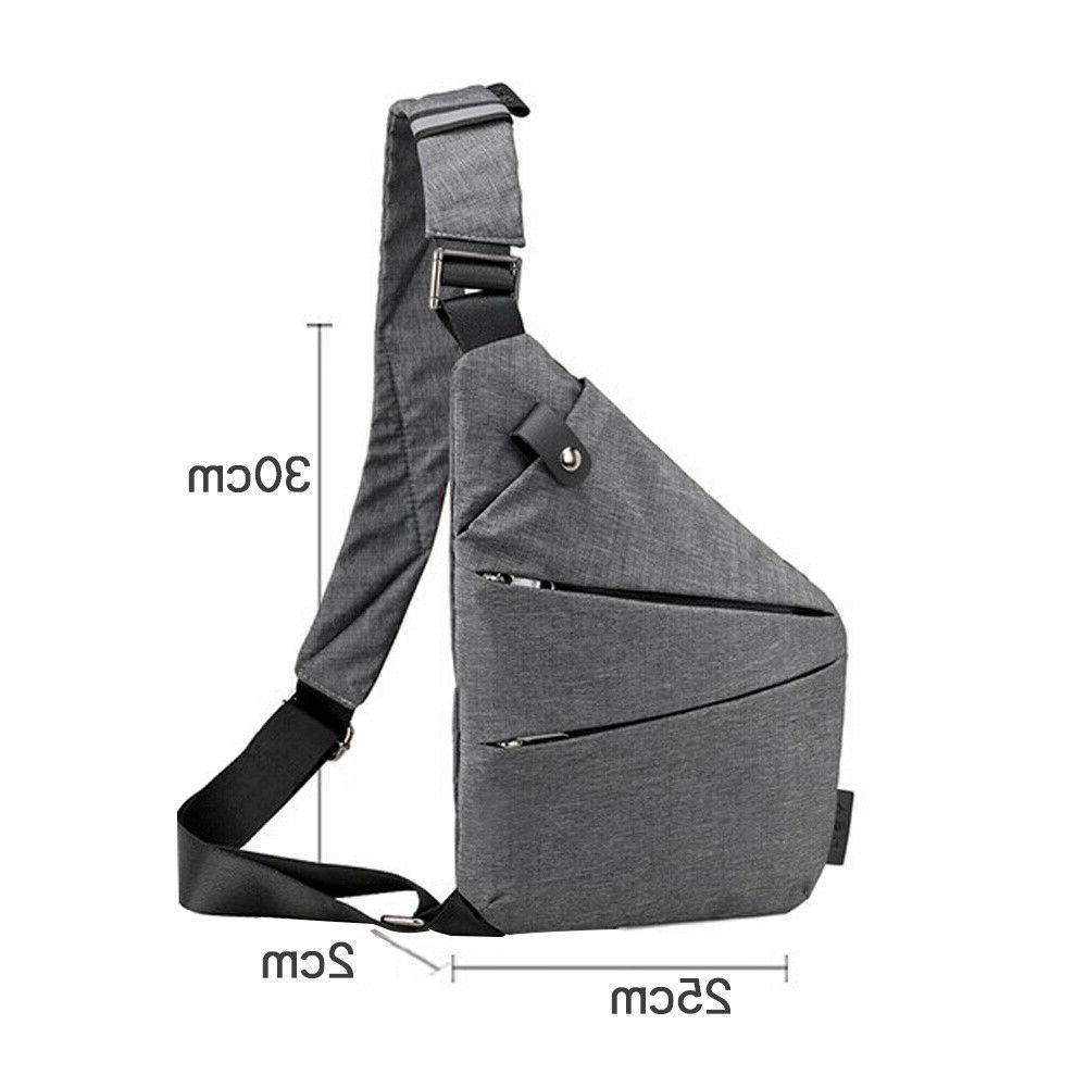 Fashion Chest Bag Anti-Theft Backpack Pocket Crossbody Bags#US