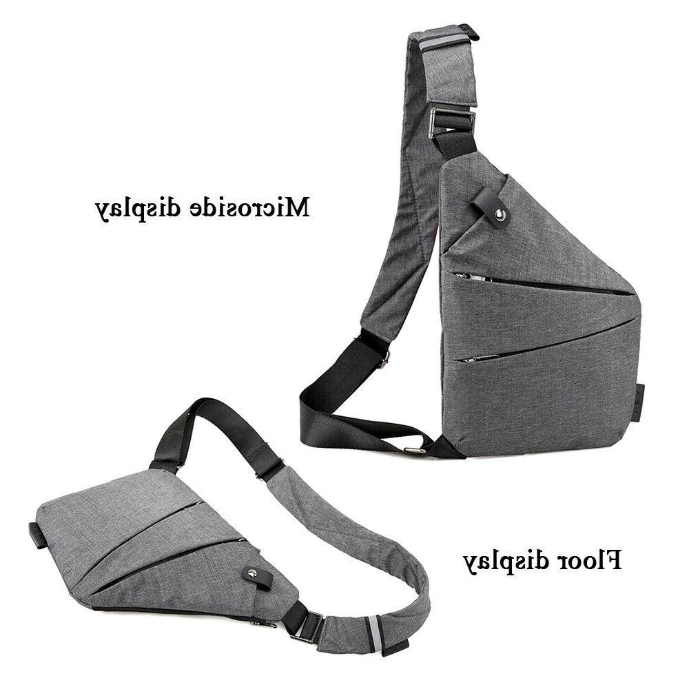 Fashion Anti-Theft Backpack Shoulder Crossbody