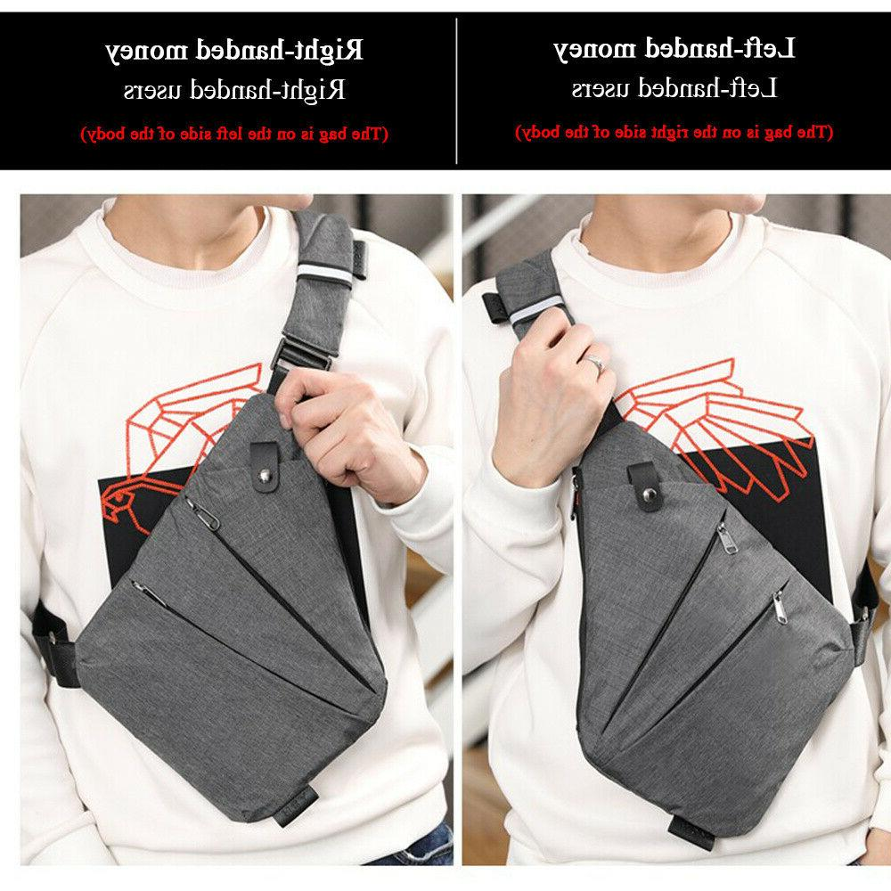 Fashion Chest Bag Personal Anti-Theft Backpack Shoulder Crossbody