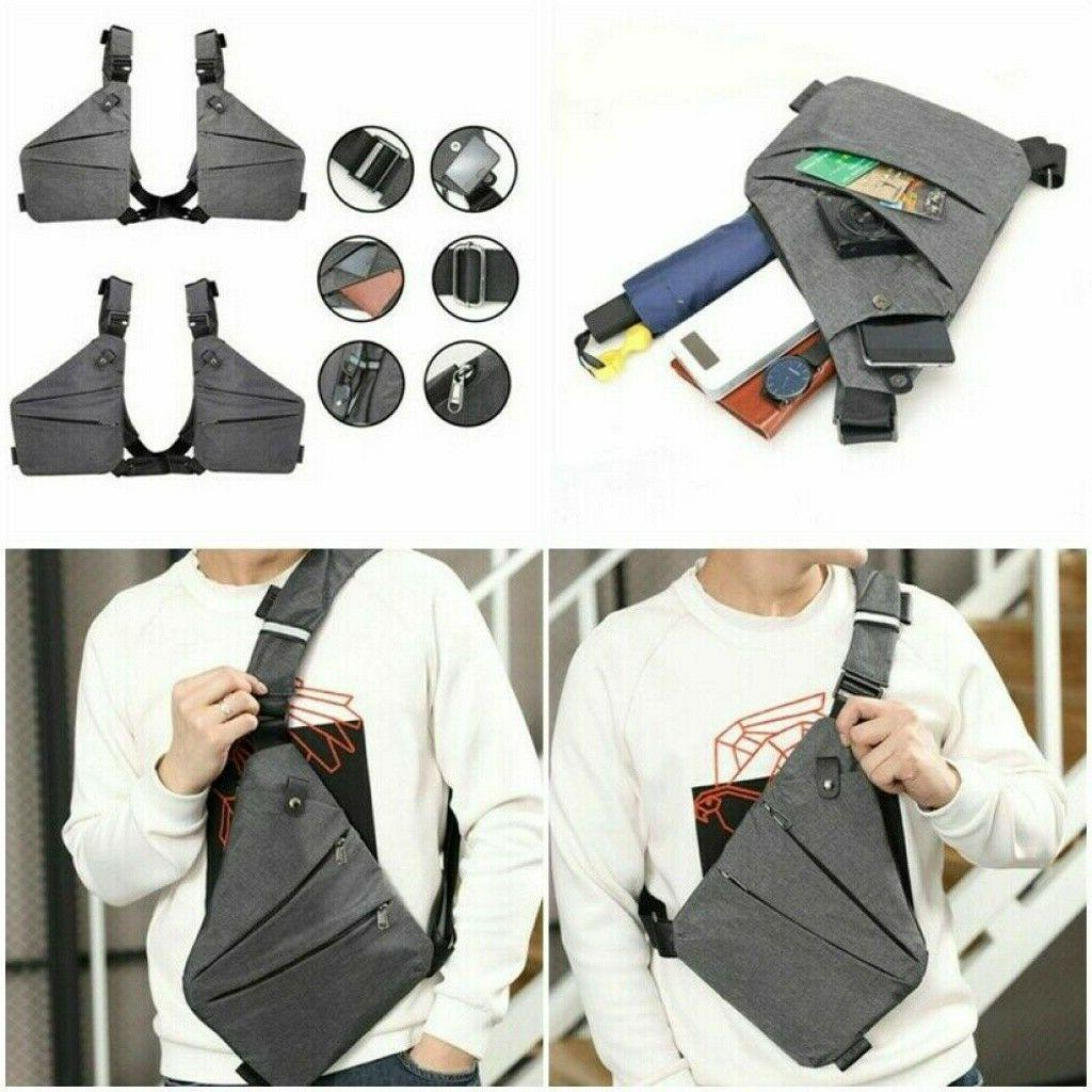 fashion chest bag personal anti theft backpack