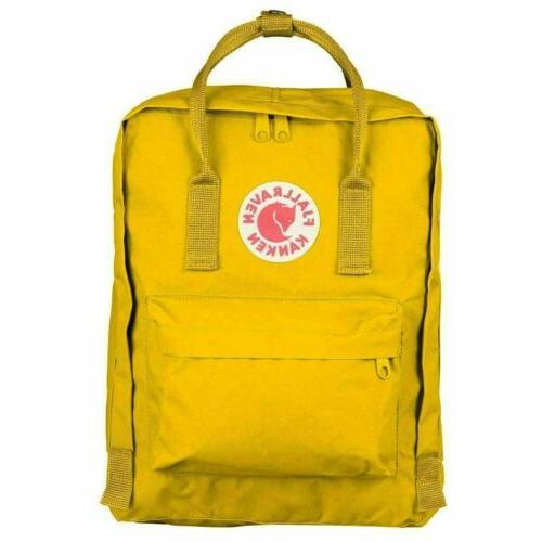 Fjallraven Kanken Travel Bag Backpack 20/16/7 L