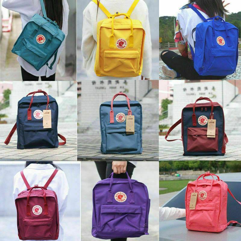 Fjallraven Kanken Backpack Classic Bag Travel 7L/16L/20L